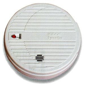 kidde 9v dc 19hill ionisation smoke alarm